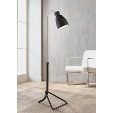 Possini Euro Seymour Chairside Pharmacy Arc Floor Lamp