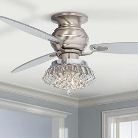 Hugger Ceiling Fans - Flush Mount Fan Designs | Lamps Plus