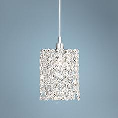 Schonbek mini pendant pendant lighting lamps plus schonbek geometrix refrax 4 mozeypictures Image collections