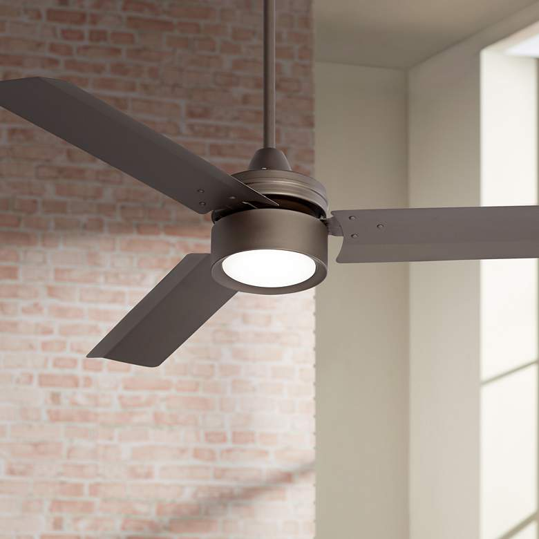"52"" Casa Arcus Emperial Bronze LED Ceiling Fan"