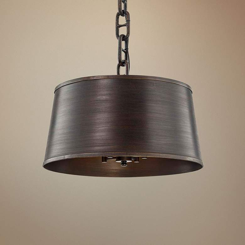 "Admirals Row 20"" Wide Pompeii Bronze Pendant Light"