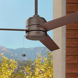 "52"" Kichler Arkwet Climates™ Copper Ceiling Fan"