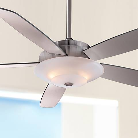 "54"" Minka Aire Airus Brushed Nickel Ceiling Fan"
