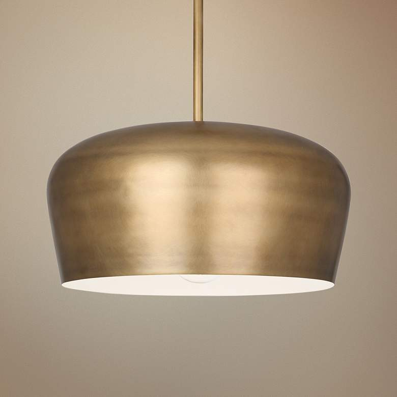 Rico Espinet Per 18 1 2 Wide Warm Br Pendant Light