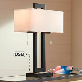 Contemporary, Nightstand Lamps, Bedroom, Table Lamps | Lamps ...