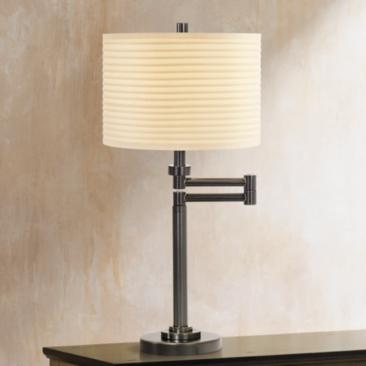 Neat Pleat Swing Arm Desk Lamp