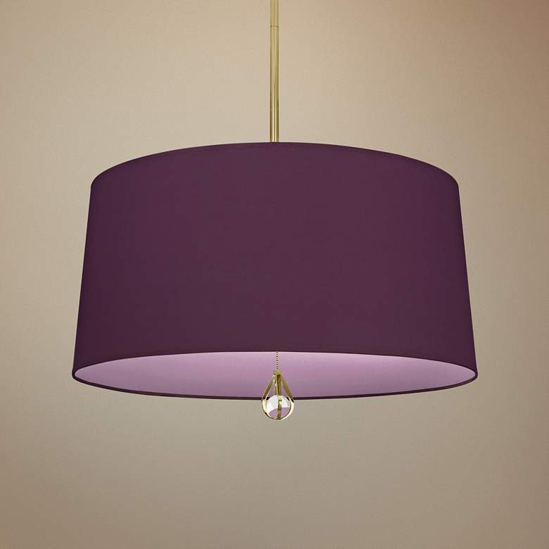 "Custis Collection 25 1/2""W Grape and Ludwell Lilac"