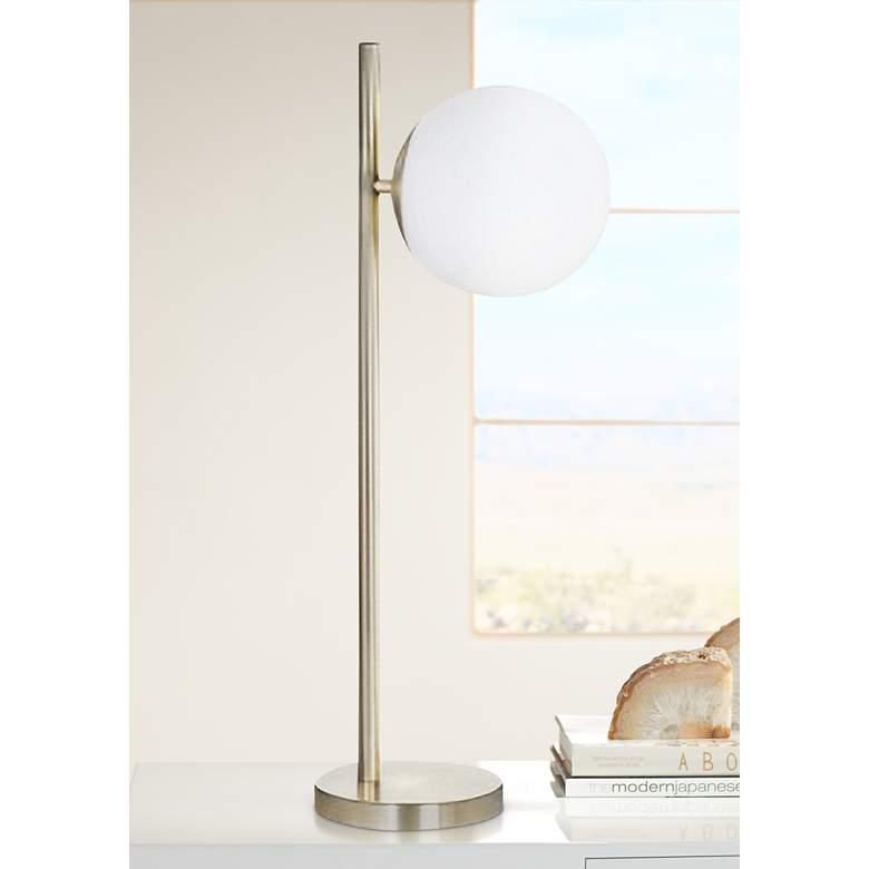 Carson Brass Metal LED Table Lamp