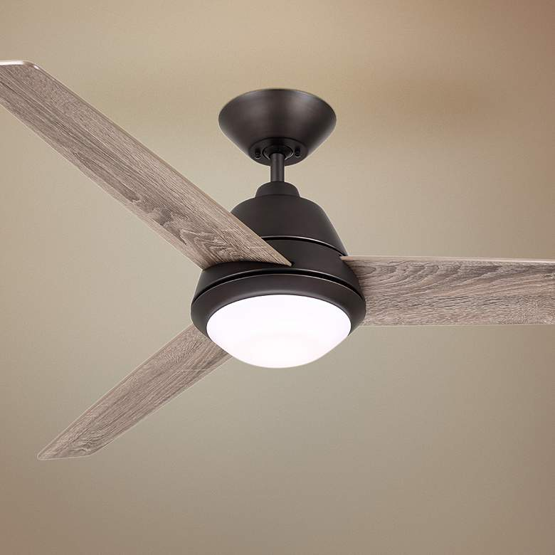 "52"" Emerson Geode Oil-Rubbed Bronze LED Ceiling Fan"