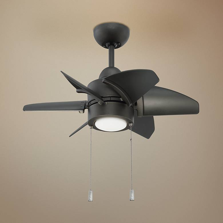 "24"" Craftmade Propel Espresso LED Ceiling Fan"