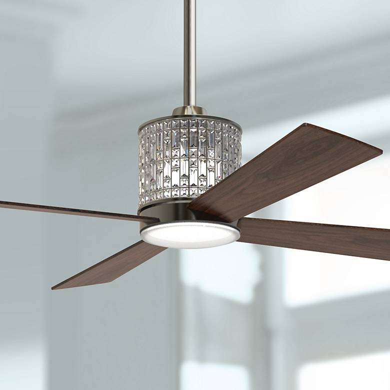 "52"" Craftmade Marissa Espresso LED Ceiling Fan"