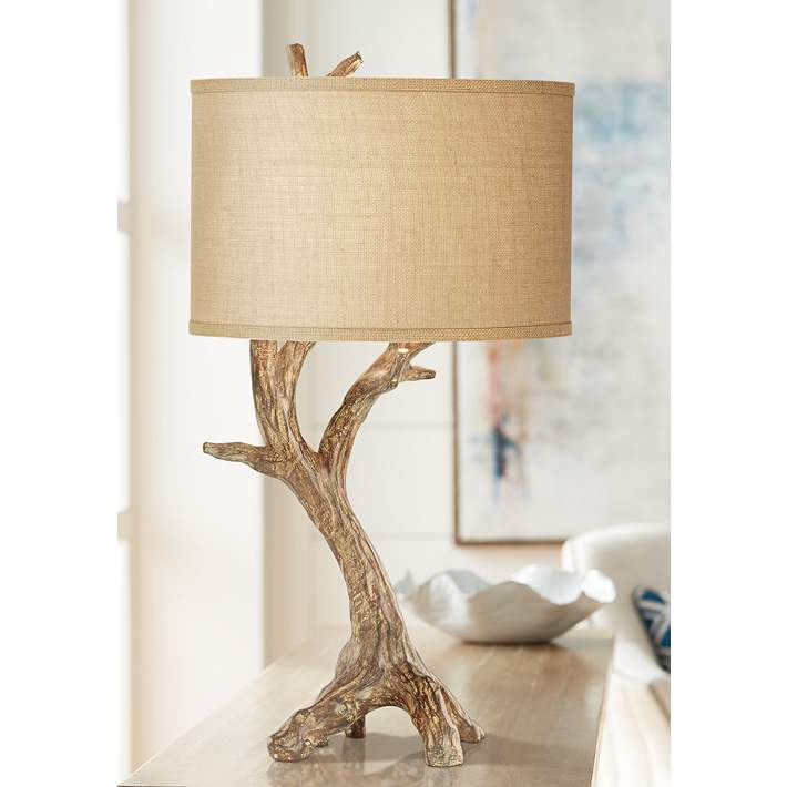 Beachwood Natural Driftwood Branch Table Lamp 67k78 Lamps Plus