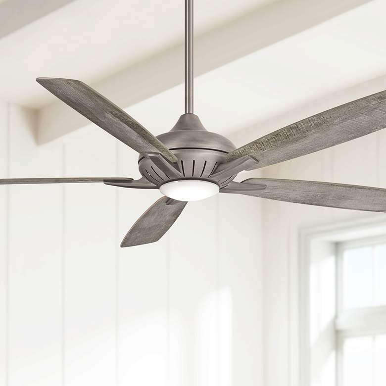"60"" Minka Aire Dyno XL Smart Fan Nickel"