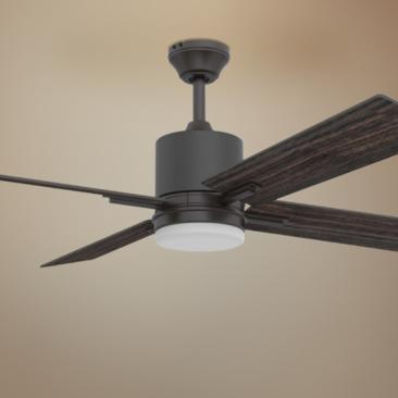 "52"" Craftmade Teana Espresso LED Ceiling Fan"