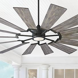 Modern Fan Farmhouse Ceiling Fan With Light Kit Ceiling Fans Lamps Plus