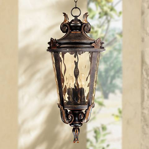 "Casa Marseille™ 26 1/4"" High Outdoor Hanging Light"