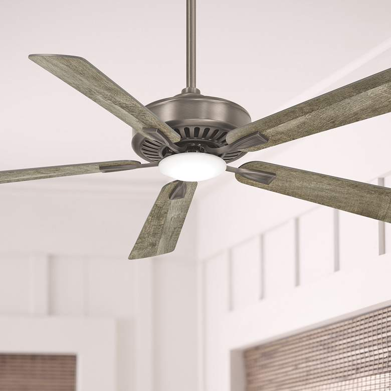 "52"" Minka Aire  Burnished Nickel LED Ceiling Fan"