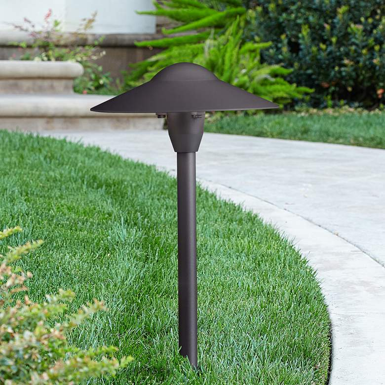 Kichler Textured Black Landscape Path Light
