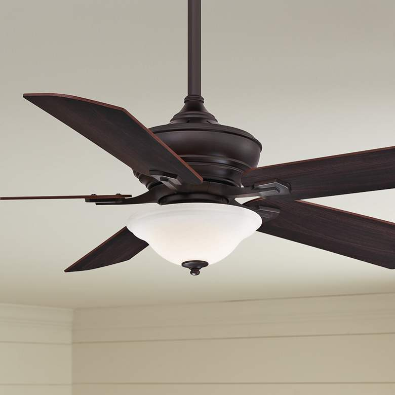 "52"" Fanimation Camhaven V2 Dark Bronze LED Ceiling"
