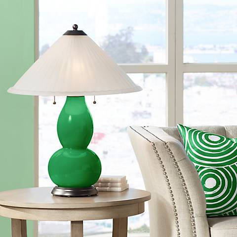 Envy Fulton Table Lamp with Fluted Glass Shade