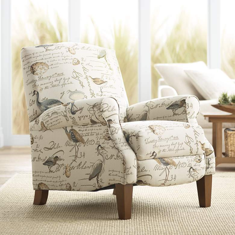 Birdsong Upholstered Fabric 3-Way Recliner Chair