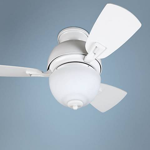 "30"" Craftmade Dane White Ceiling Fan"