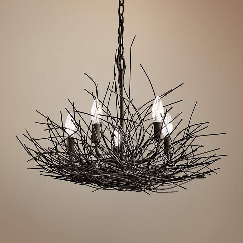 "Organique Collection 24"" Wide Chandelier by Kichler"