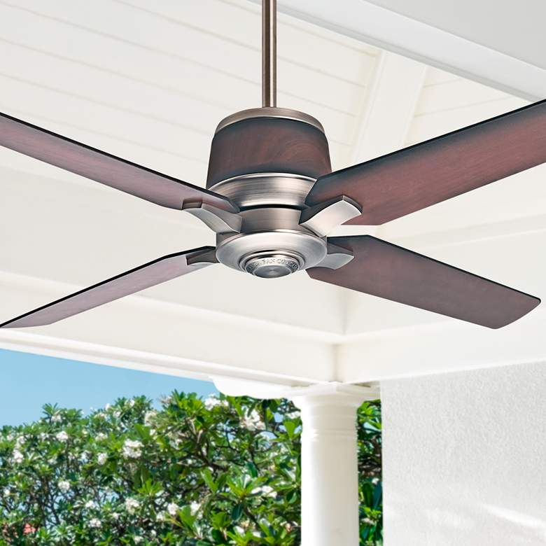 "54"" Casablanca Aris Brushed Nickel Ceiling Fan"