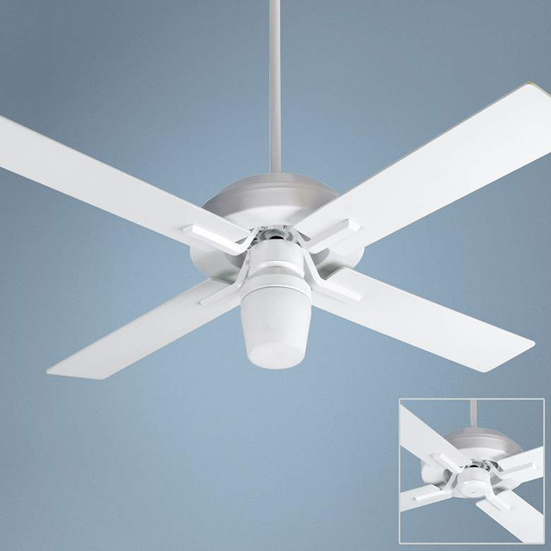 "52"" Craftmade South Beach White Outdoor Ceiling Fan"
