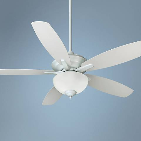 52 Quot Quorum Monaco Studio White Patio Ceiling Fan T4821