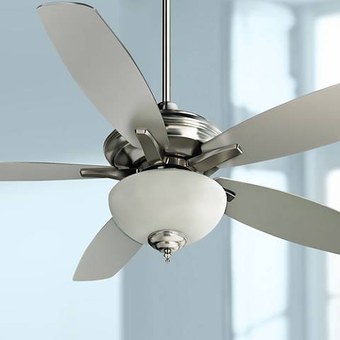 "52"" Craftmade Copeland Stainless Steel Ceiling Fan"