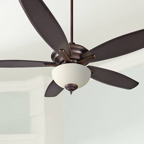 "52"" Craftmade Copeland Oiled Bronze Gilded Ceiling Fan"