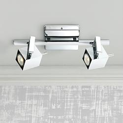 Eglo Manao 2-Spot Chrome Track Light Fixture