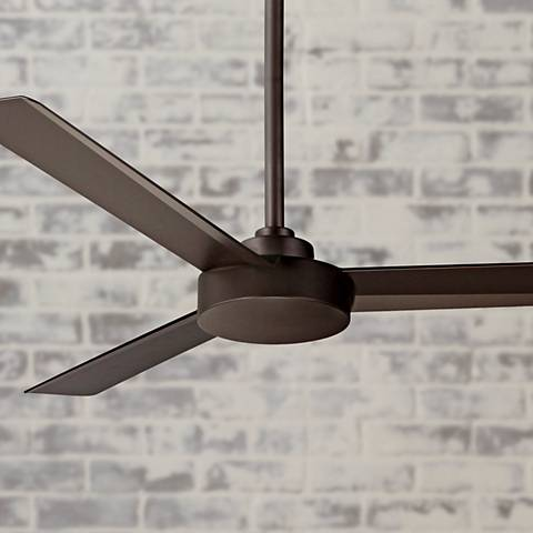 "52"" Minka Aire Roto Oil-Rubbed Bronze Ceiling Fan"