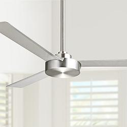"52"" Minka Aire Roto Brushed Aluminum Ceiling Fan"