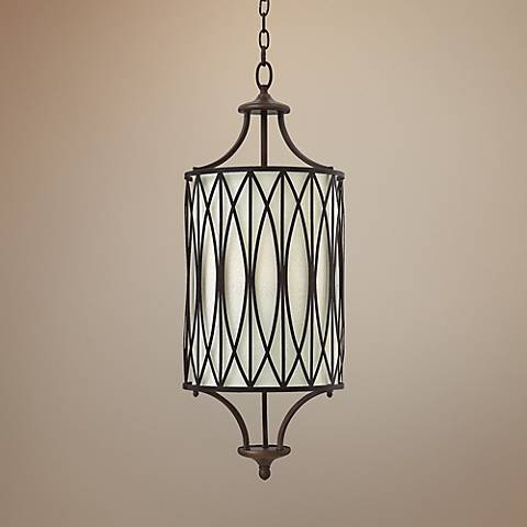 "Hinkley Walden 12"" Wide Victorian BronzeFoyer Light"