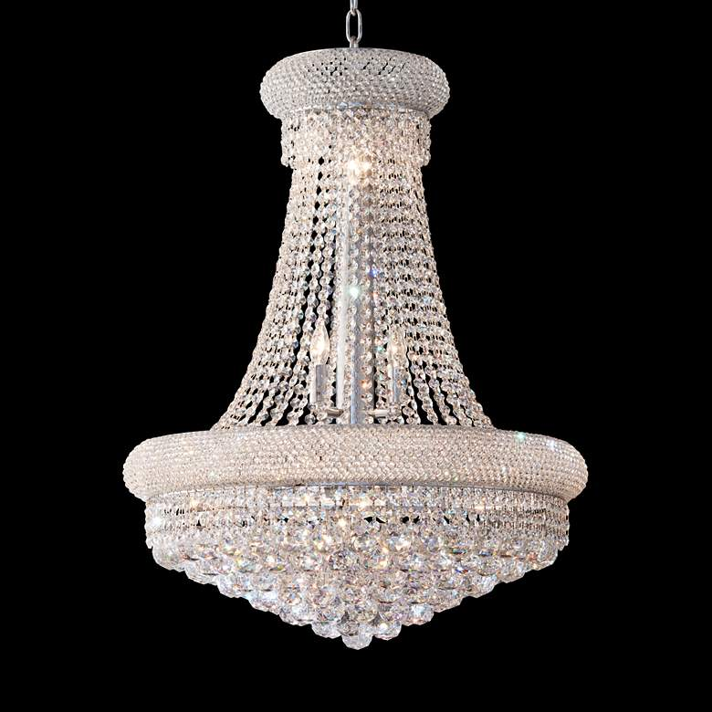 Primo Collection 24 Wide Crystal Chandelier