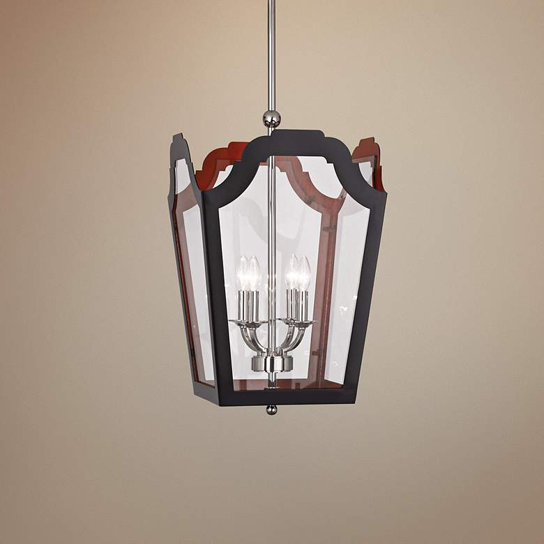 "Tayloe 15 1/4"" Wide Charcoal Pendant Light"