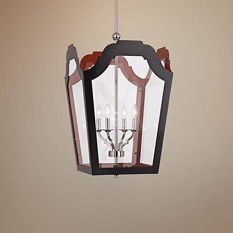 "Tayloe 19 1/4"" Wide Charcoal Pendant Light"