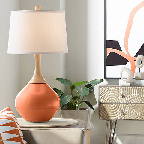 Robust Orange Wexler Table Lamp