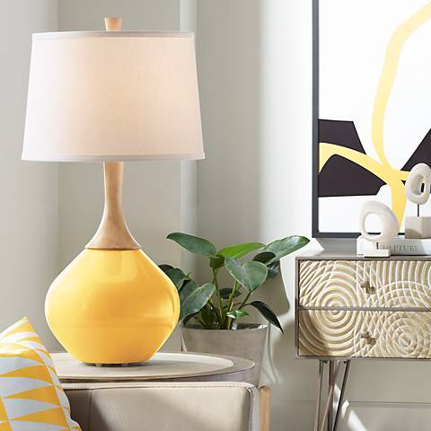 Goldenrod Wexler Table Lamp