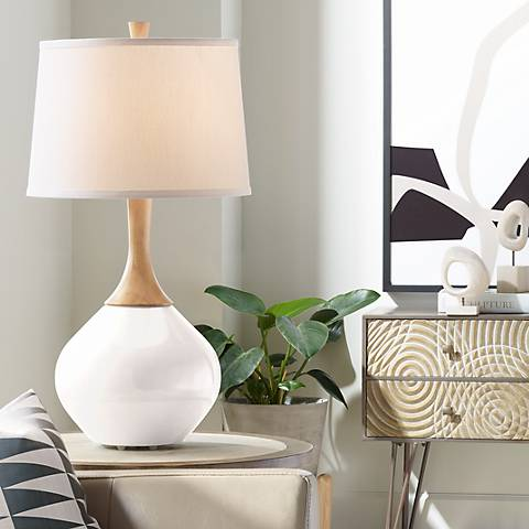 Smart White Wexler Table Lamp