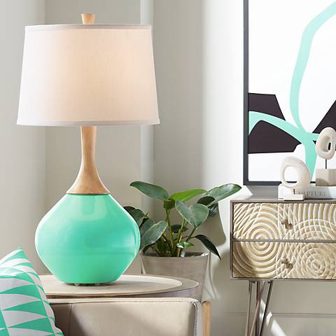 Turquoise Wexler Table Lamp