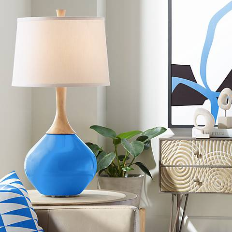 Royal Blue Wexler Table Lamp