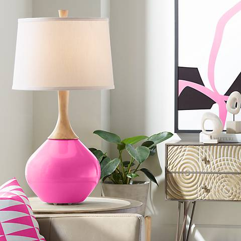 Blossom Pink Wexler Table Lamp