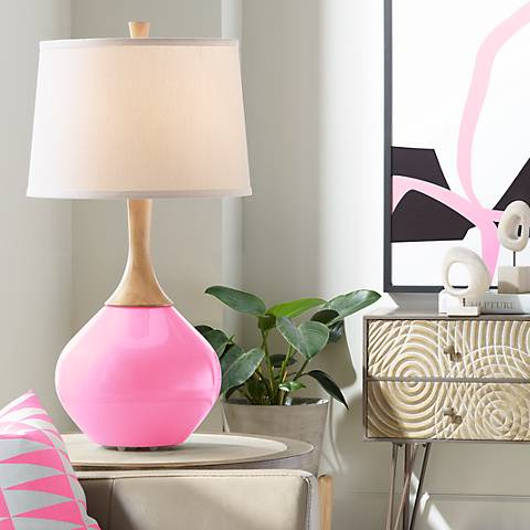 Pale Pink Wexler Table Lamp