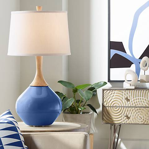Monaco Blue Wexler Table Lamp