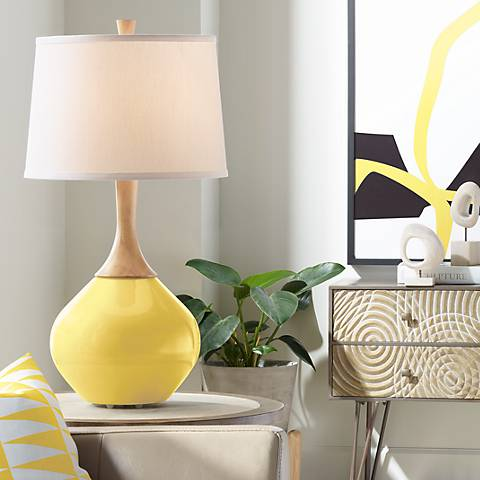 Lemon Zest Wexler Table Lamp