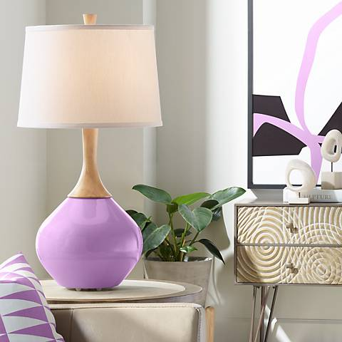 African Violet Wexler Table Lamp