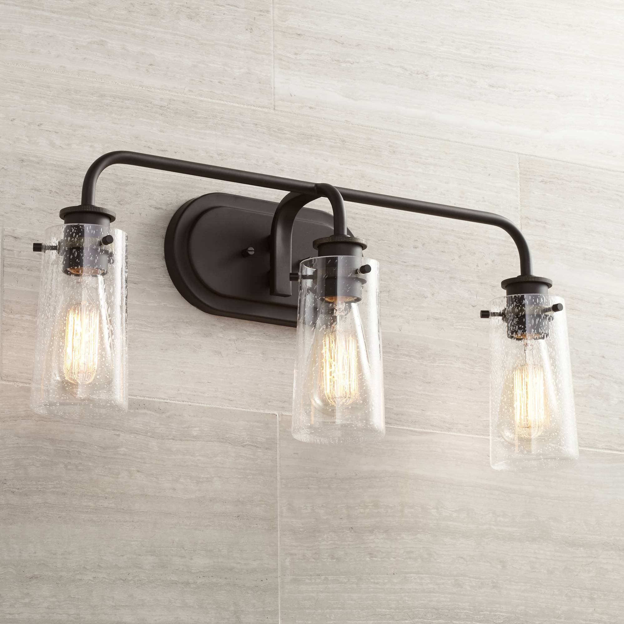 Kichler braelyn 24 wide olde bronze 3 light bath light 6r113